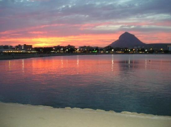 Sunset at Javea