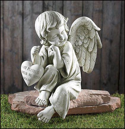 Amazing Of Angel Garden Decor Angel Garden Angels For The Garden Home  Memorial Angel Statues
