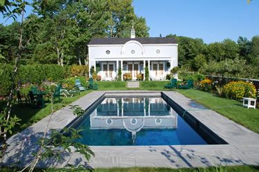 Rockport, Maine Pool House By Phi Home Designs