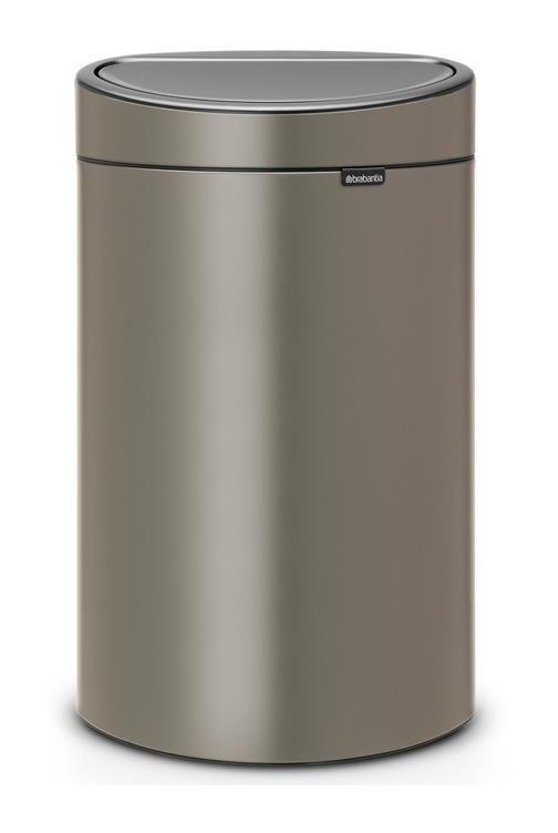 Brabantia Touch Bin New 40 Litres Seau Interieur Plastique