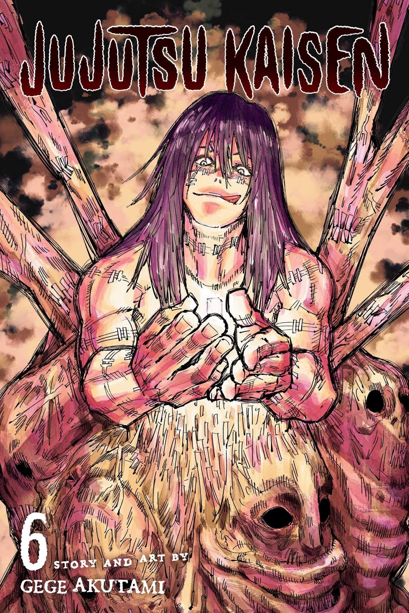 Best Up And Coming Manga Jujutsu Kaisen 6 Jujutsu Manga Covers Comics