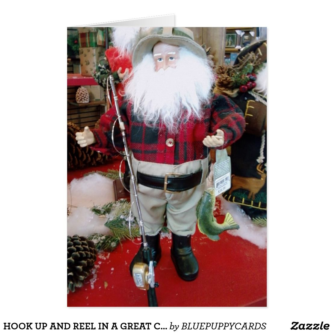 Hook Up And Reel In A Great Christmas Card Greeting Cards And More