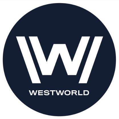 Westworld Logo Blue Circle Westworld Logos Superhero Logos