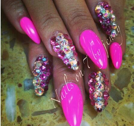 Junk nail #pink - Junk Nail #pink Nail-ista Pinterest Nail Nail, Hot Nails And