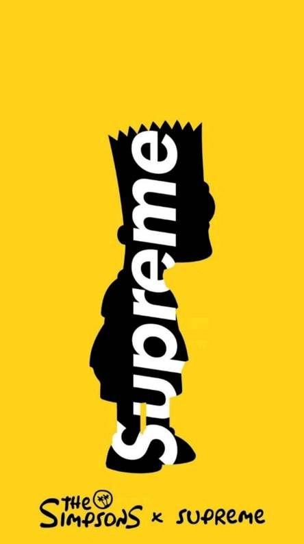 Supreme Bart Supreme Iphone Wallpaper Supreme Wallpaper Supreme Wallpaper Hd