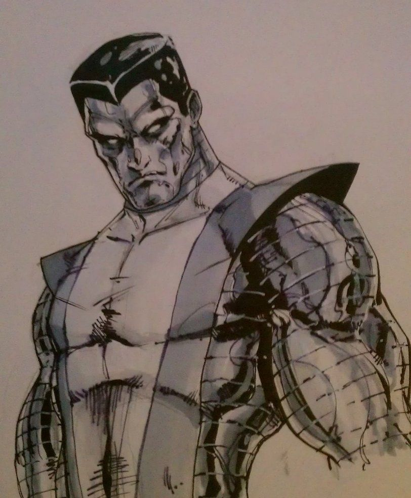 Colossus toned by ~grover80 on deviantART
