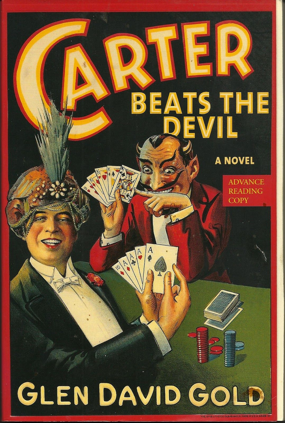 Carter Beats the Devil by Glen David Gold, historical fiction about the magician Charles Carter. Very interesting, engaging, and funny.