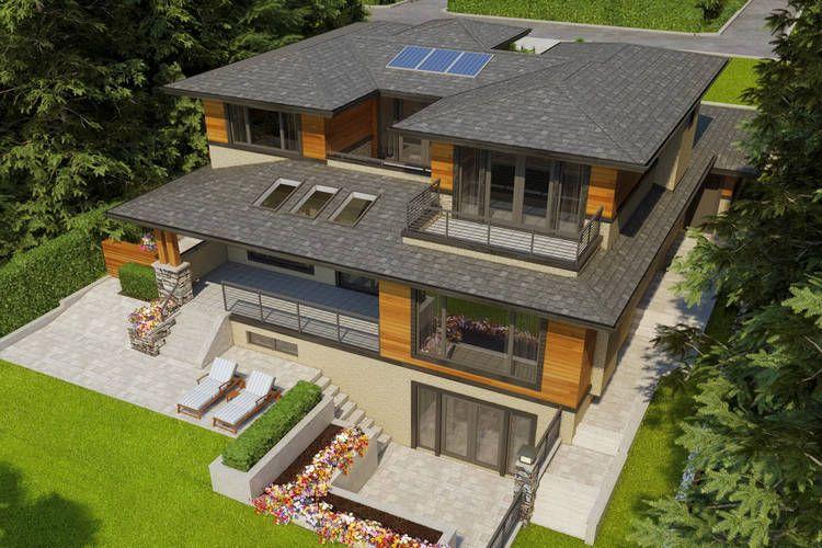 West Coast Contemporary Architectural Project Pavel Denisov Design Architectural House Plans Architecture Architect House