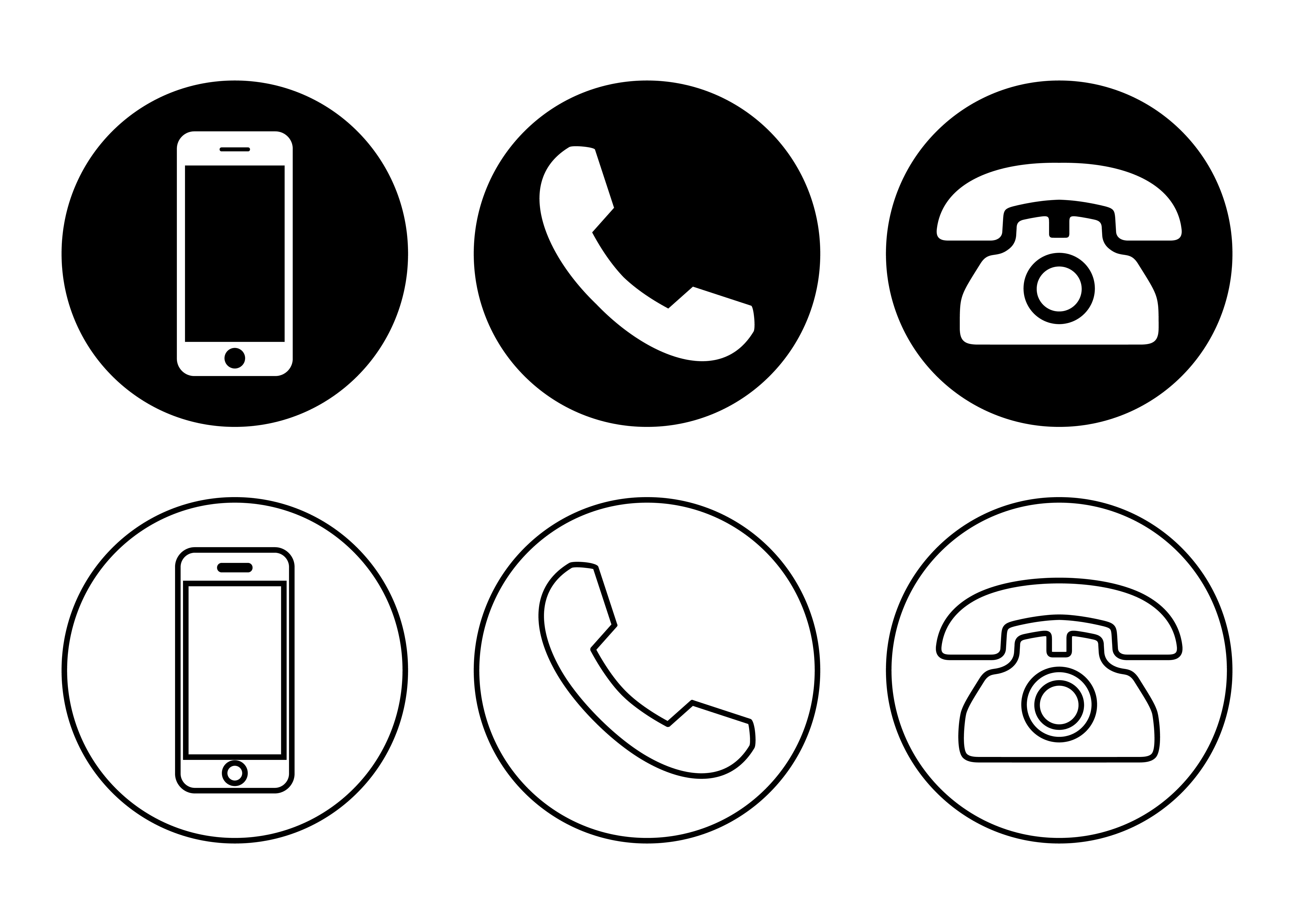 Phone icon vector. Call icon vector. mobile phone