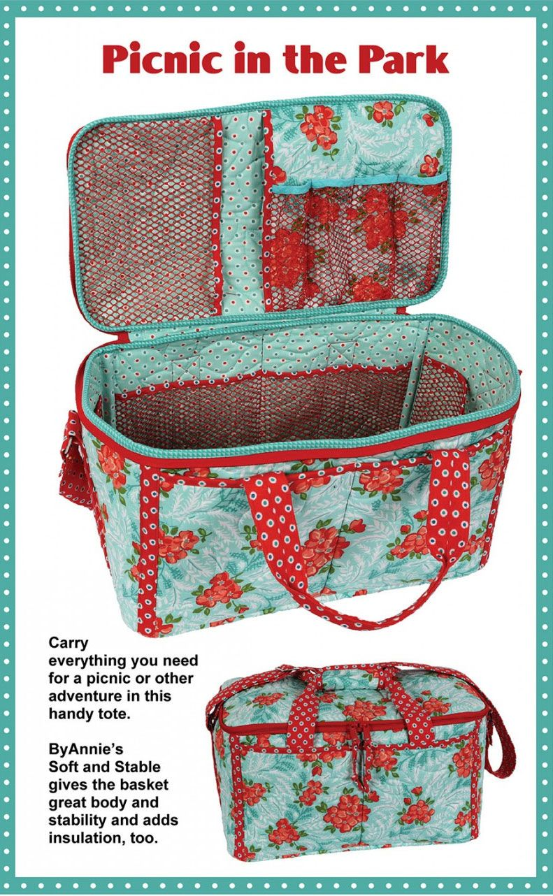 Picnic In The Park Sewing Pattern By Annie Unrein Beginner