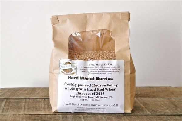 HARD WHEAT BERRIES. Heirloom berries for a hard red, whole grain bite! This Hudson Valley organic wheat is a heritage variety and an excellent source of whole grain nutrition and rich flavor. Perfect for adding to soups, stews, grain salads, on its own as a pilaf-style side dish. Can also be easily sprouted for extra nutrition and growing your own wheat grass.