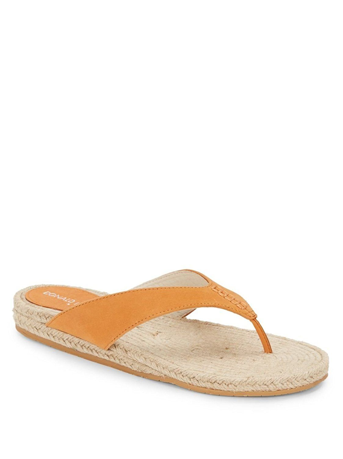 get authentic cheap price Donald J Pliner Suede Thong Sandals outlet lowest price fast delivery cheap online buy cheap official site free shipping big discount XCFOwL