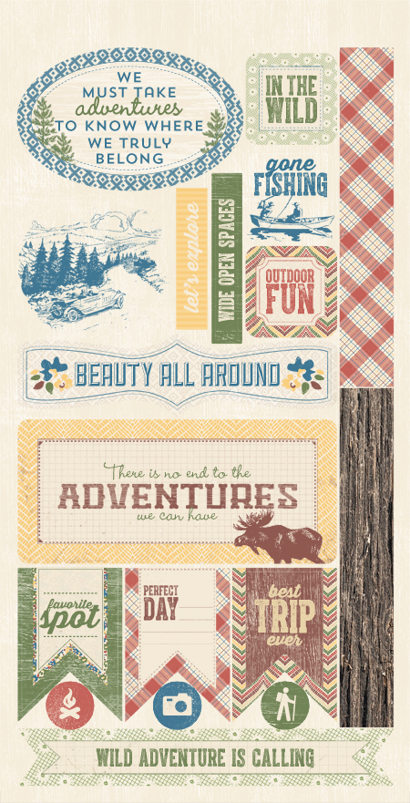 Adventure, a new collection from Authentique. (6/14)   New releases   Paper, Paper Crafts ...