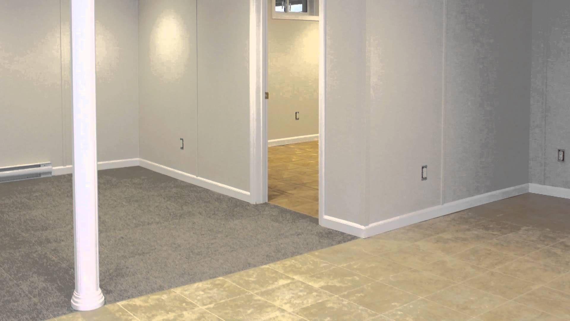 Basement: Waterproof Basement Wall Panels Used Brick Wall Basement With Wooden  Basement Poles And Small