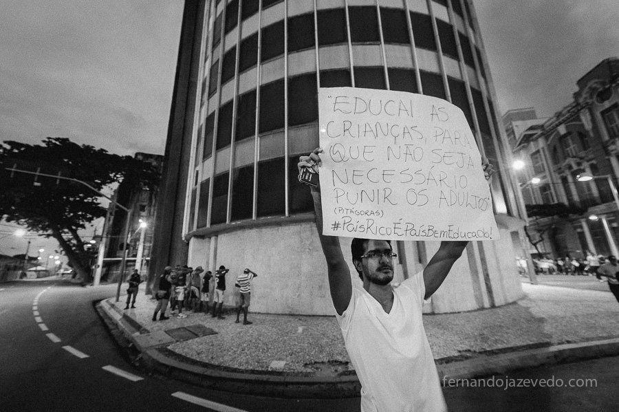 Protesto em Recife | 20jun13 #protespope