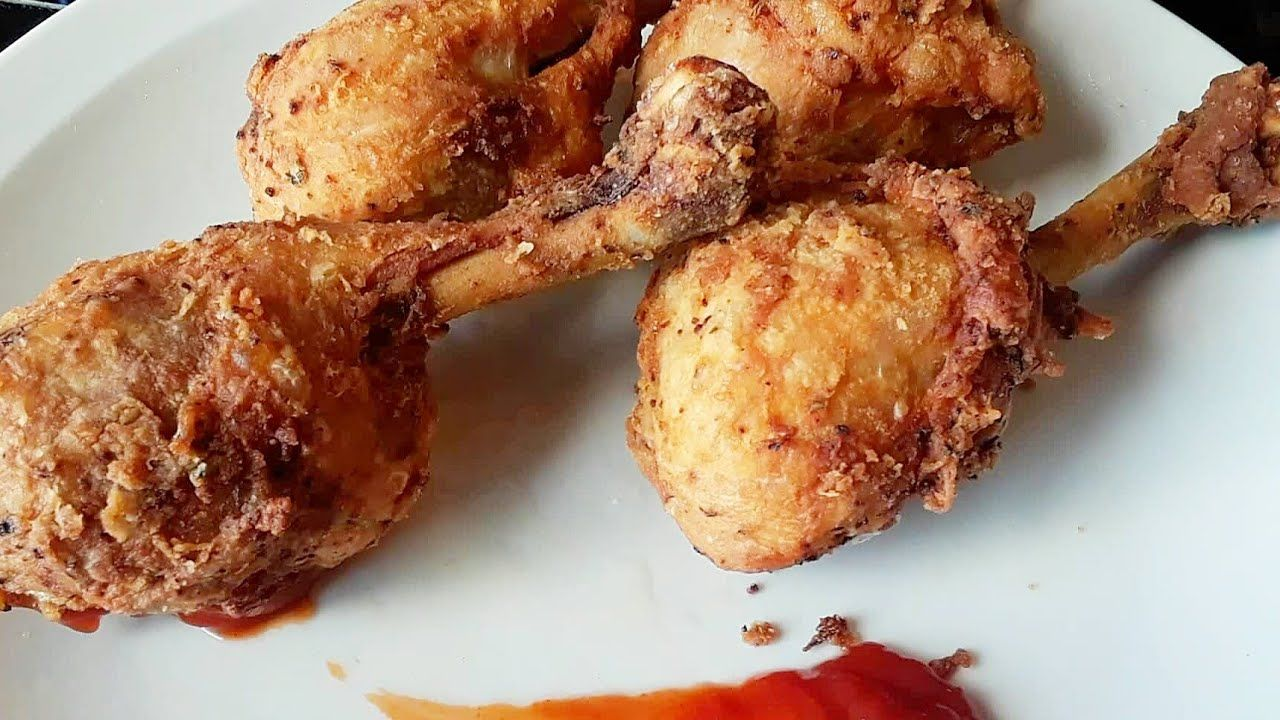 Fried chicken haitian food youtube with images