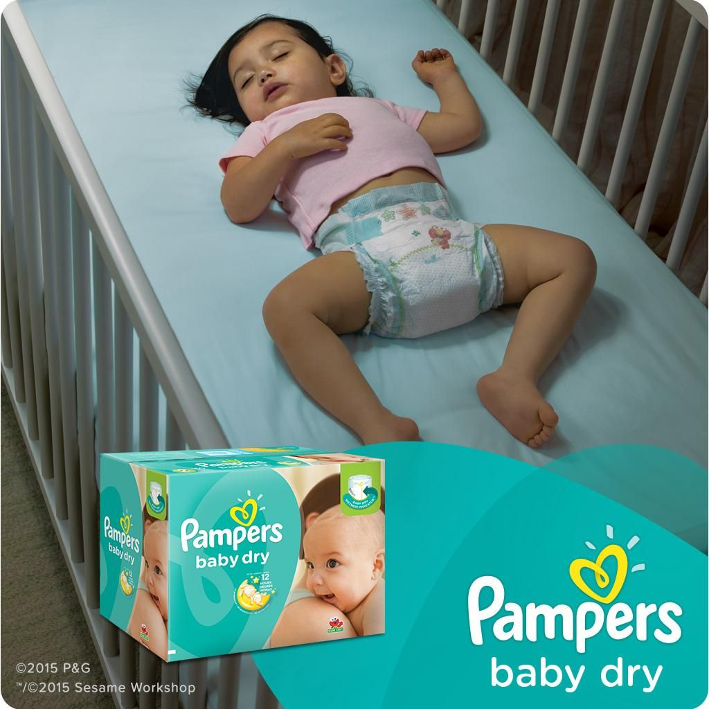 : Pampers Baby Dry Diapers Economy Pack Plus, Size
