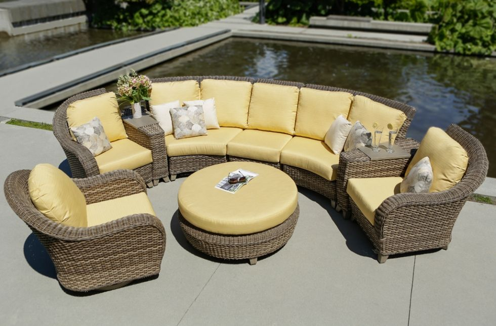 Hillsboro Ratana Home And Floral Outdoor Furniture With