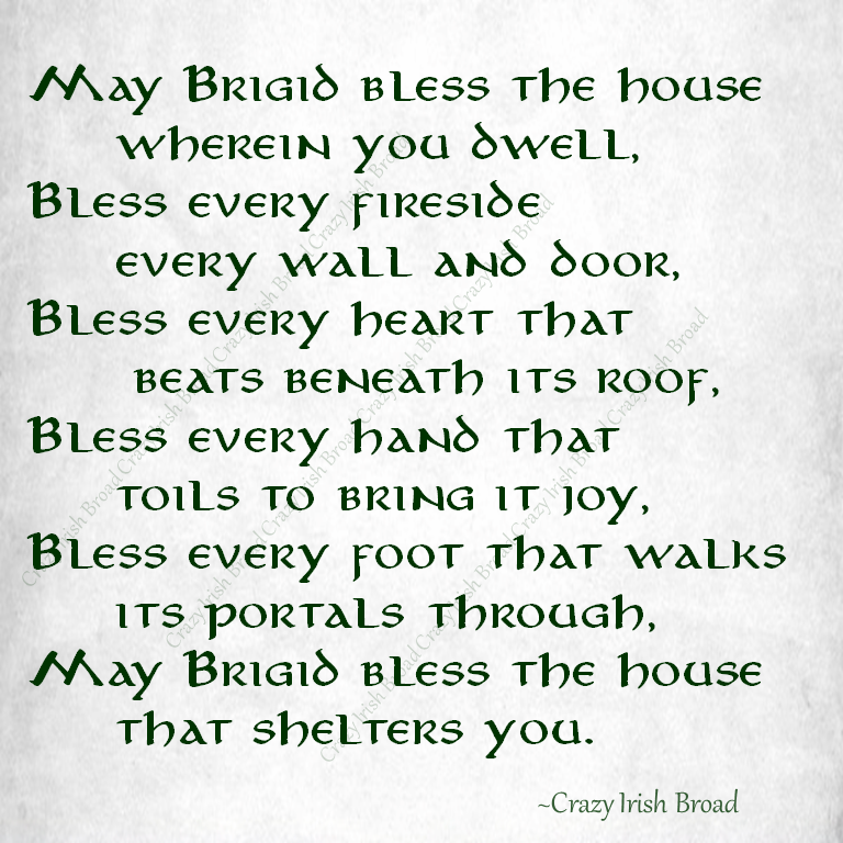Image result for st brigid's day blessing