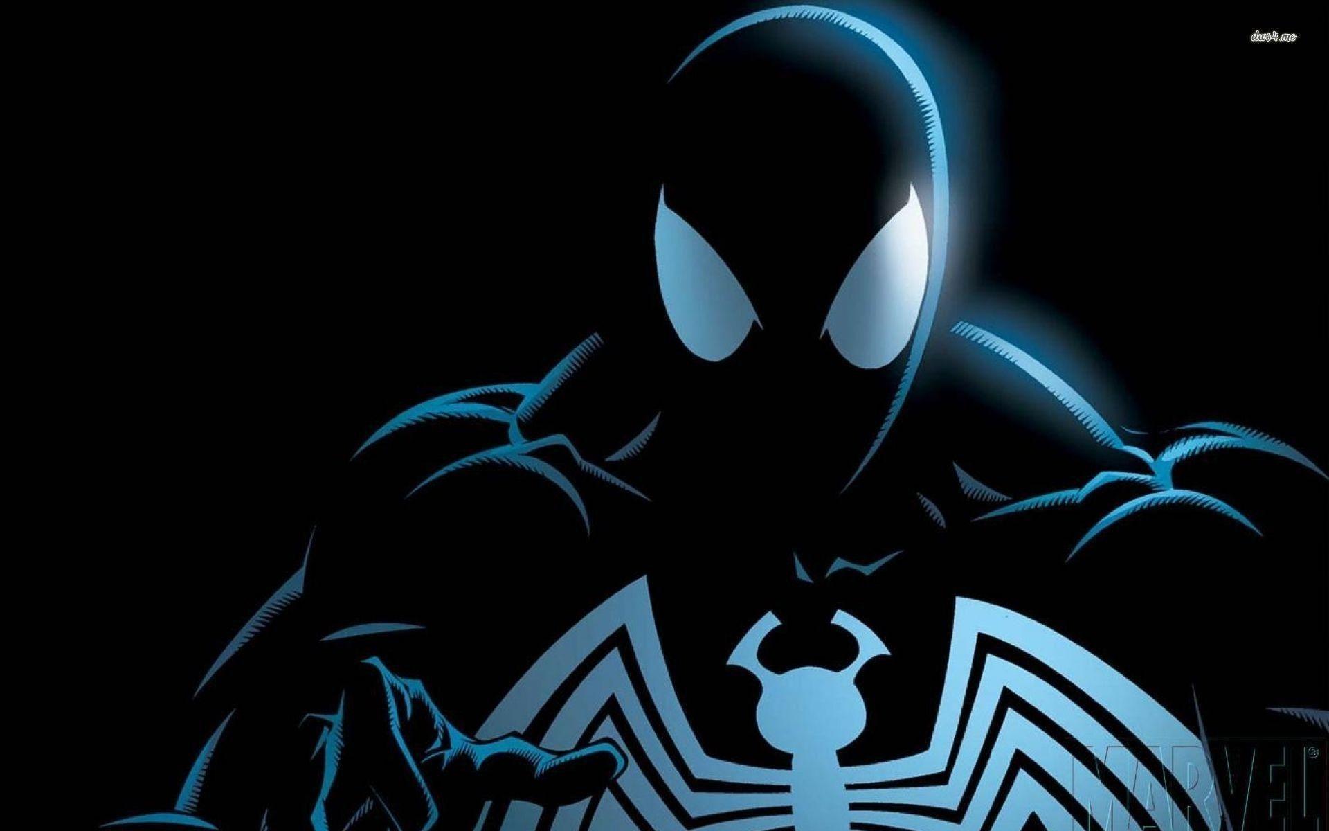 Black Suit Spiderman Spiderman Comic Black Spiderman Symbiote Spiderman