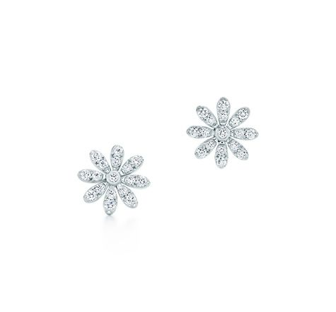 Tiffany Co Daisy Earrings