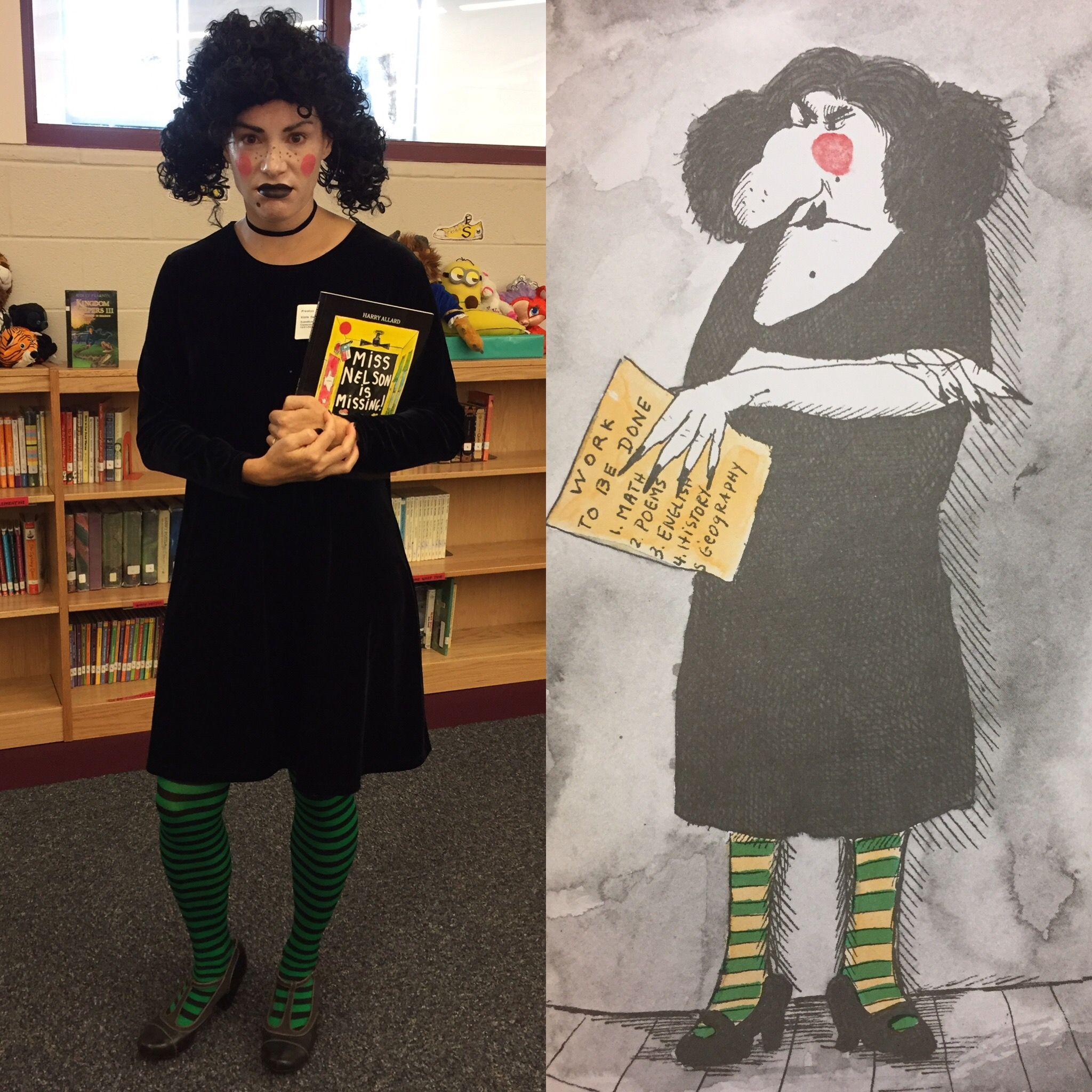 Miss Nelson Is Missing Viola Swamp Costume Viola Swamp Costume Halloween Outfits Teacher Costumes Miss viola swamp coloring page from miss viola swamp category. miss nelson is missing viola swamp