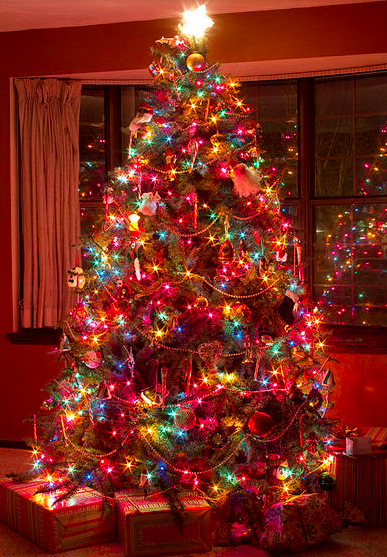 Colorful Christmas Tree Images.Because Kids And Me Love A Colorful Christmas Best