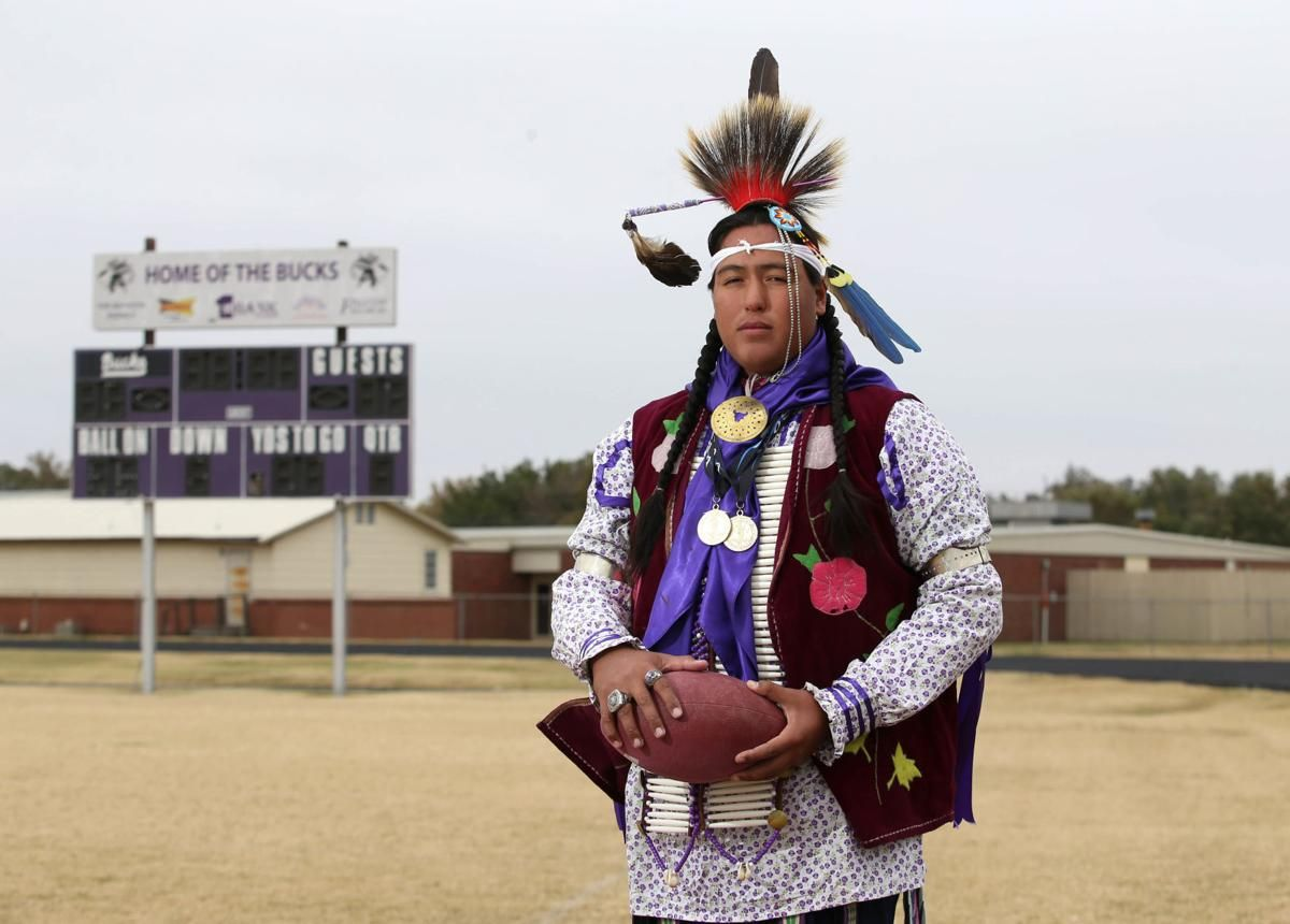 'I was born into it' Hominy athlete is big into football