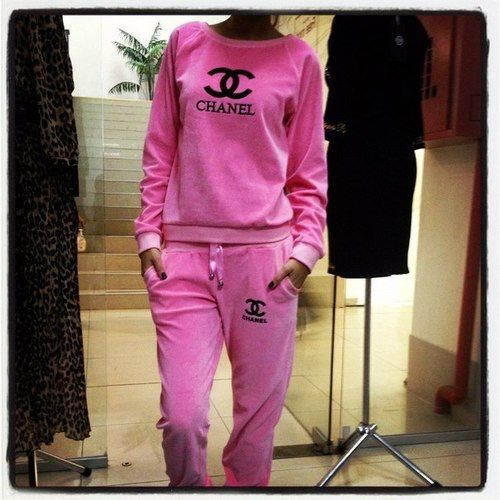 pink chanel tracksuit  3dae71af4