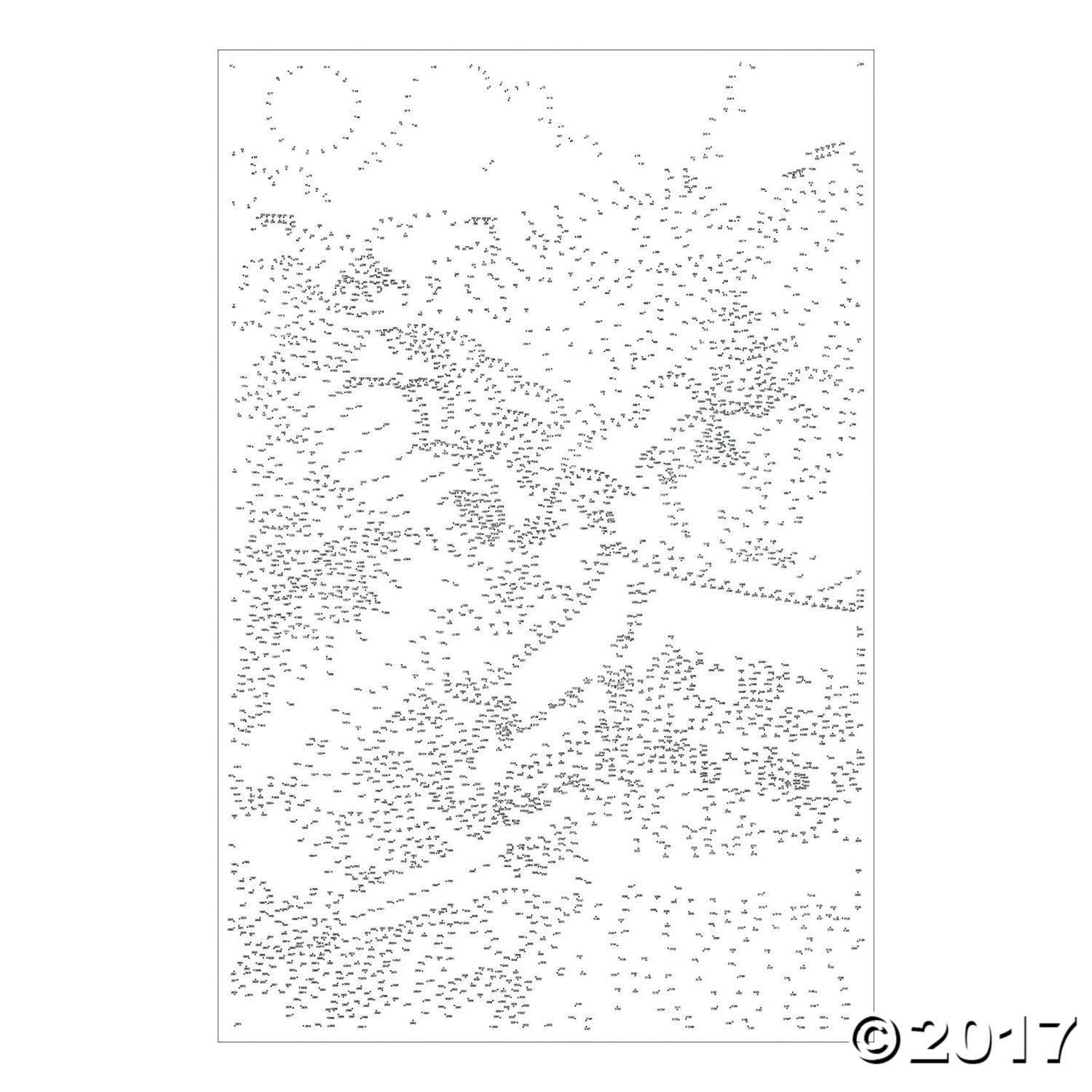 Extreme Dot to Dot 7-Poster Set: Famous Destinations
