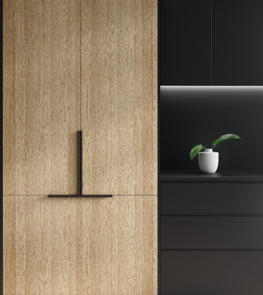 Classic Oak By Laminex Oak Vaneer Veneer Panels Tall Cabinet Storage