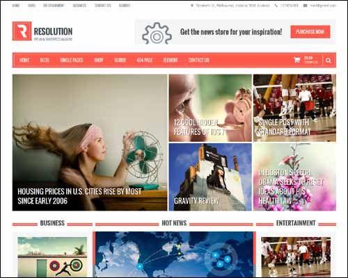 DZ-Templates: Resolution Free Responsive WordPress Theme | Places to ...