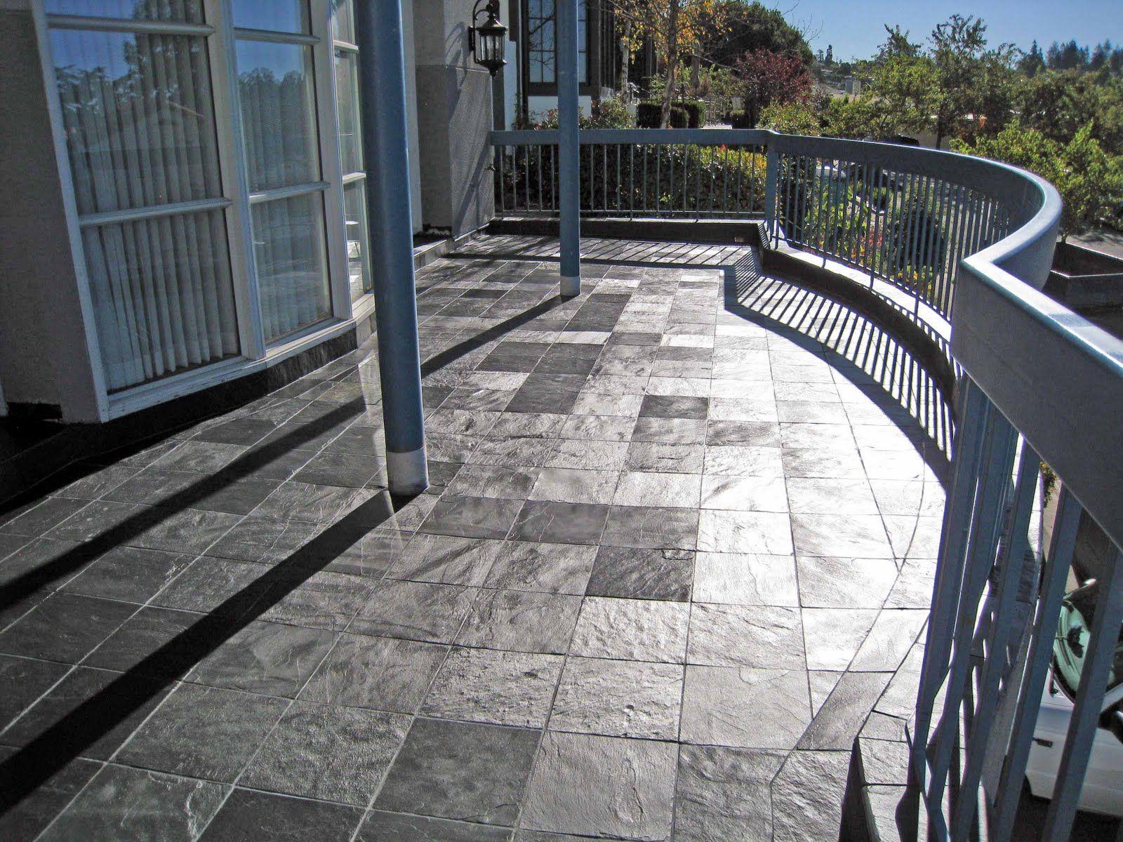 Front Entry Decks Porcelain/Stone Tile On Outdoor Decks