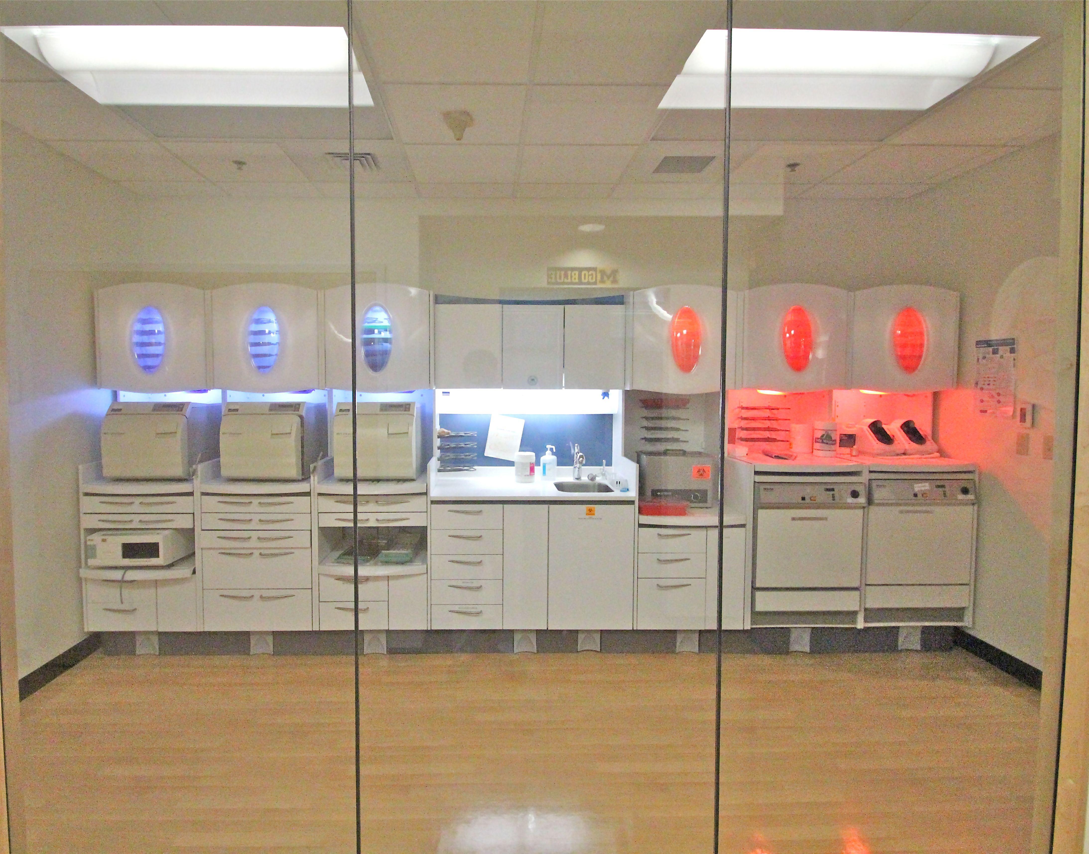Pediatric dentist office sterilization our pediatric for Door design lab