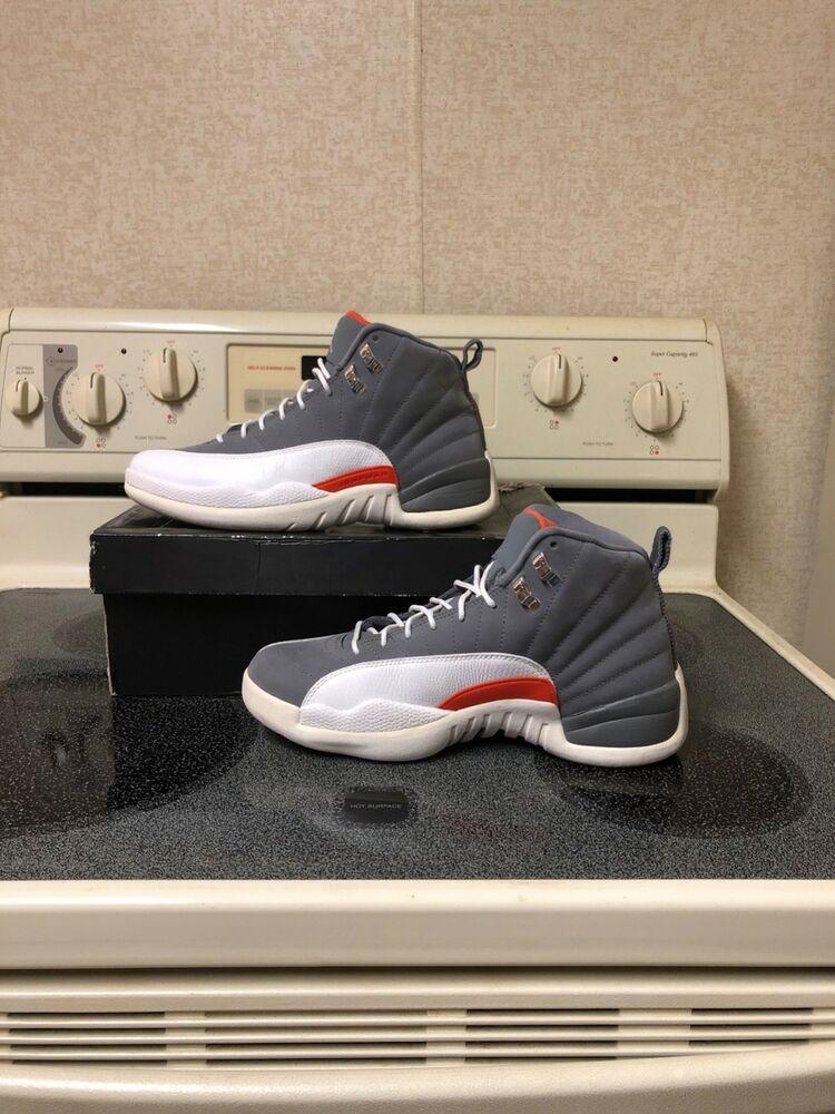 finest selection 011e3 16594 Air Jordan Retro 12 Cool Grey Mens Size 8 #fashion #clothing ...