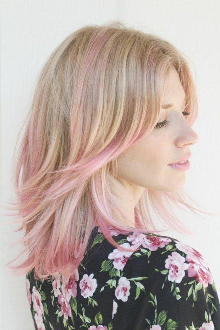 1001+ photos impressionnantes de cheveux rose foncé ou
