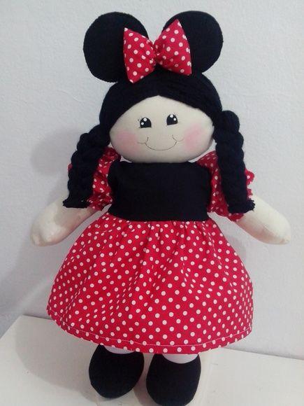 boneca japonezinha e boneca minny