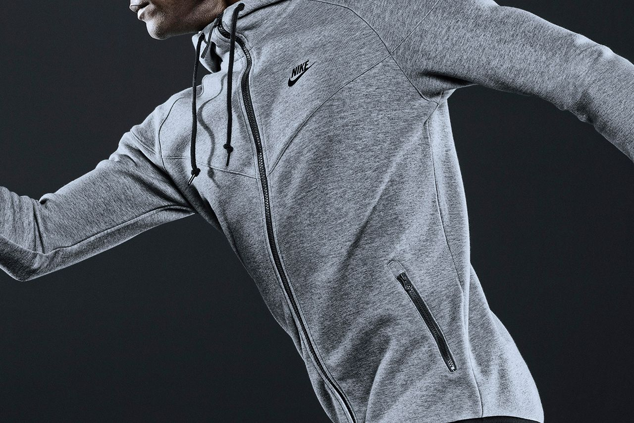 Nike sportswear fallwinter tech fleece collection nike