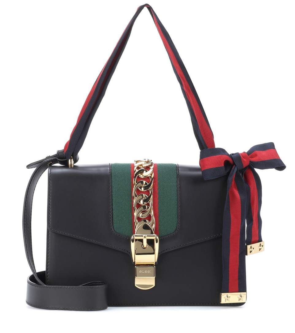 881484a53c5 Sylvie Leather Shoulder Bag - Gucci