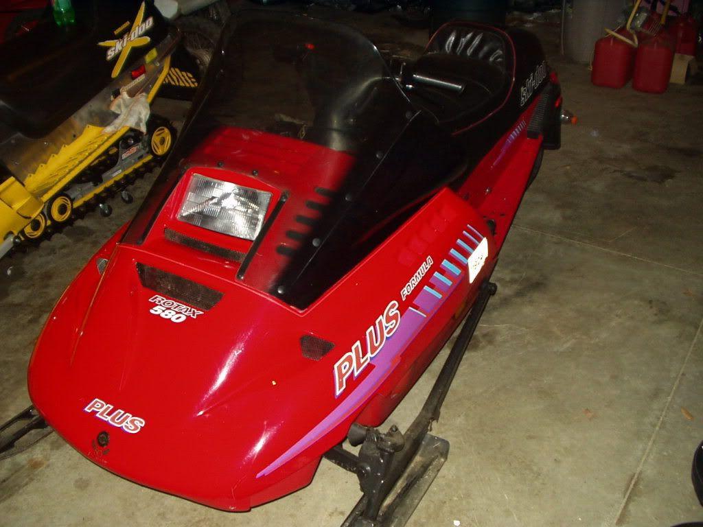 1993 Ski Doo Formula Plus 580 Sleds Yenko Camaro Winter Fun