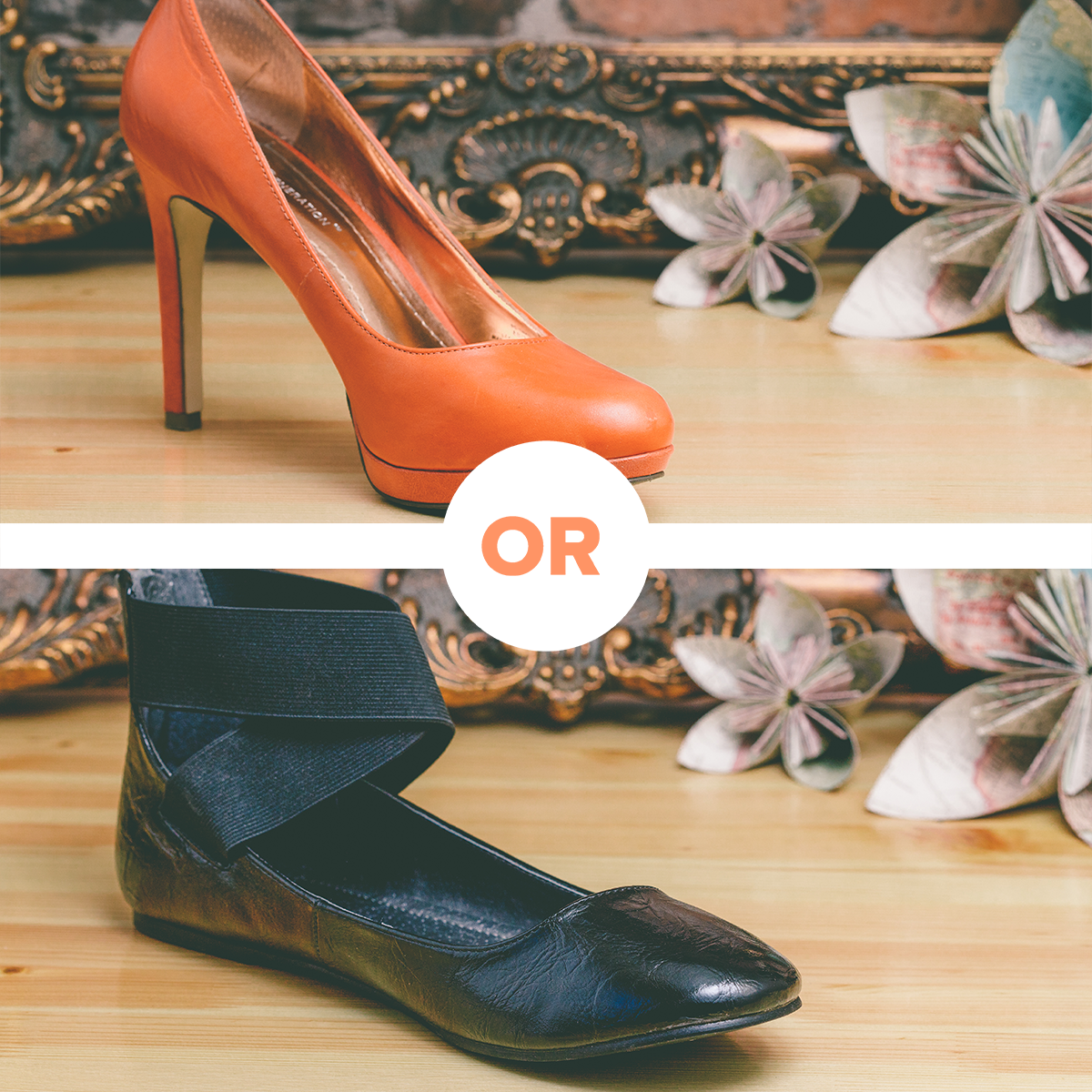 Which one do you prefer shoes more suede or leather? 18