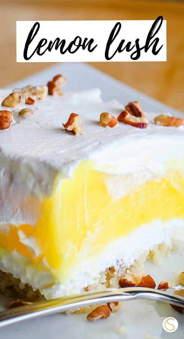 Lemon Lush Lemon Dessert