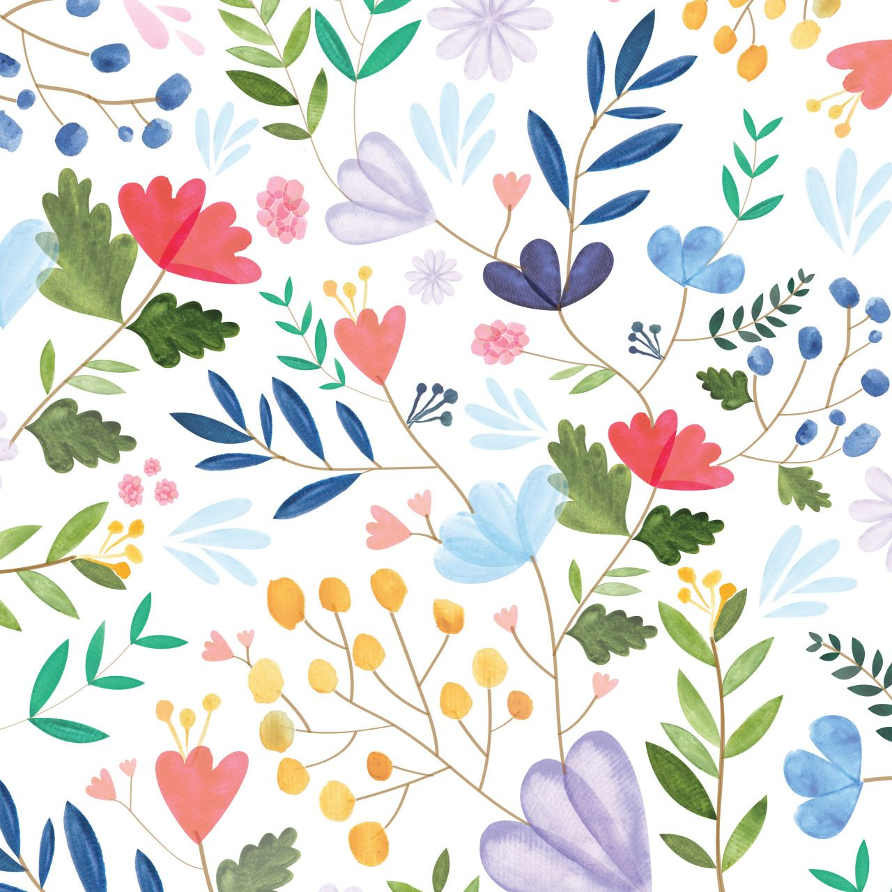 Computer Wallpaper Floral: Looks Pretty Good As A Tiled