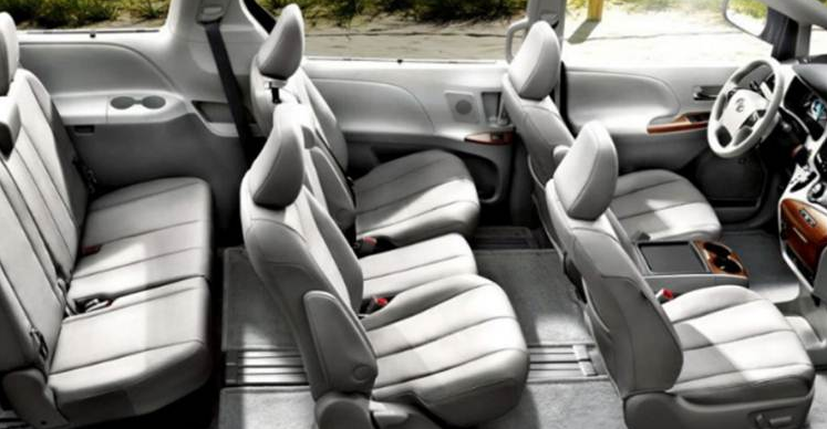 Toyota Sienna 2018 Cabin Design And Features