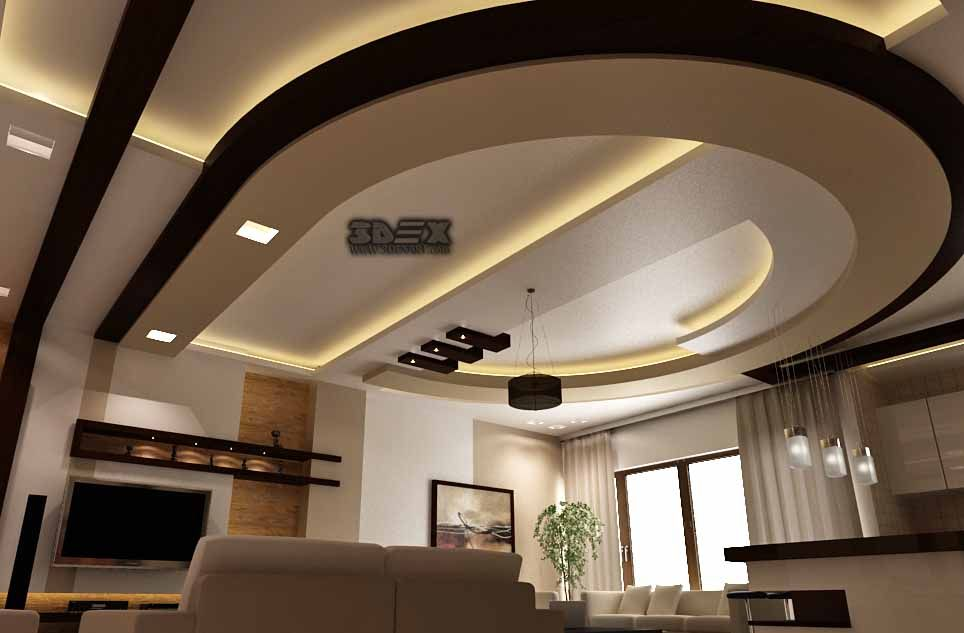 Latest pop design for hall 50 false ceiling designs for living rooms 2018 suspended ceilings for Latest pop ceiling designs home