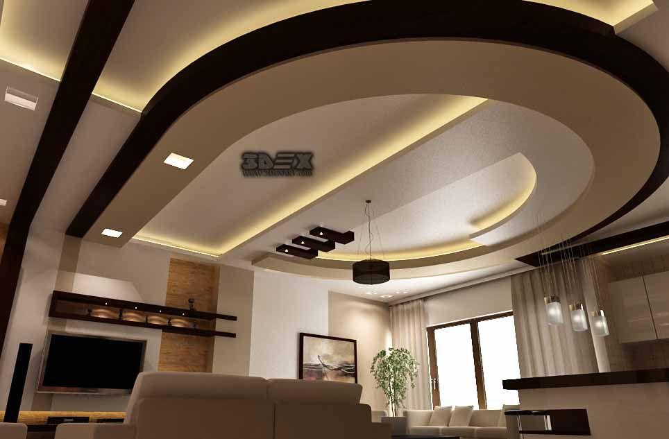 Ceiling Design Living Room 2018 Simple Interiors India Latest Pop For Hall 50 False Designs Modern
