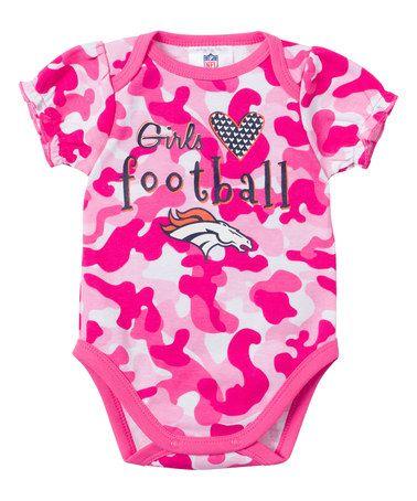 Denver Broncos Heart Camo Bodysuit - Infant by Gerber Childrenswear  zulily   zulilyfinds 1c3967afd