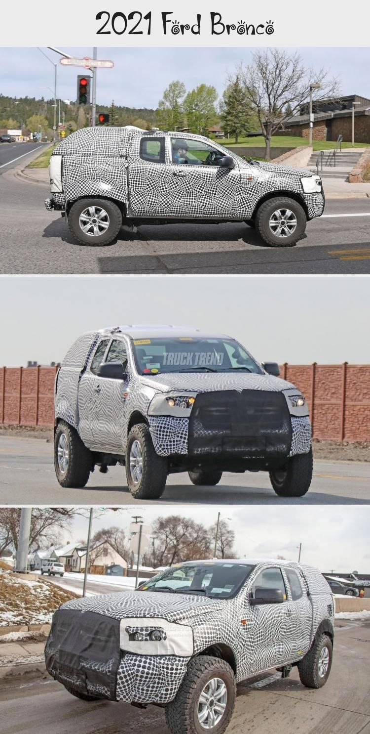 2021 Ford Bronco in 2020 (With images) Ford bronco, Ford