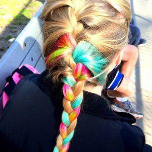 Rainbow braid