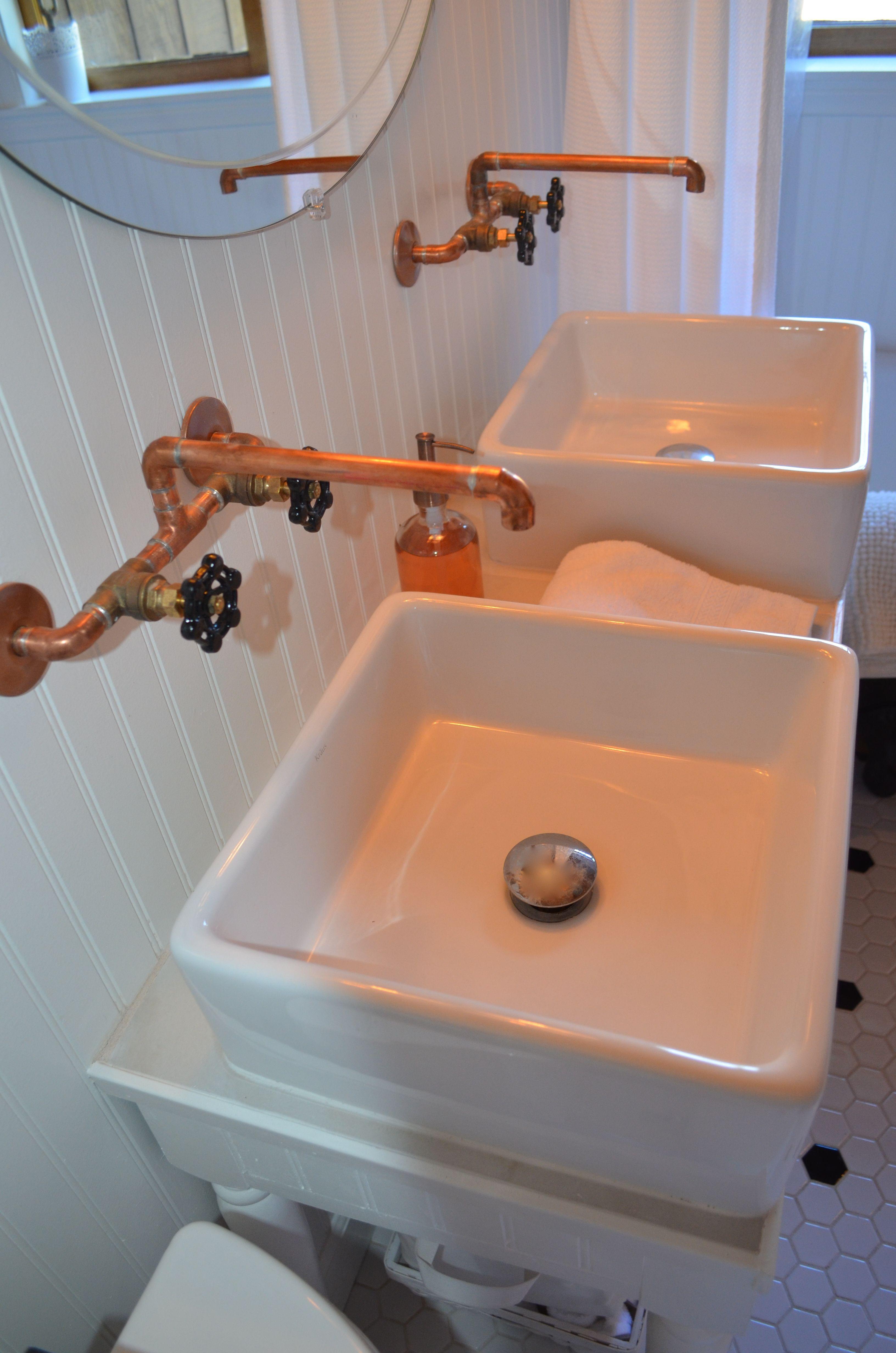 Introducing My Log Cabin Bathroom Renovation